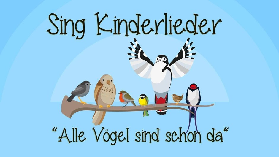 alle v gel sind schon da videos sing kinderlieder. Black Bedroom Furniture Sets. Home Design Ideas